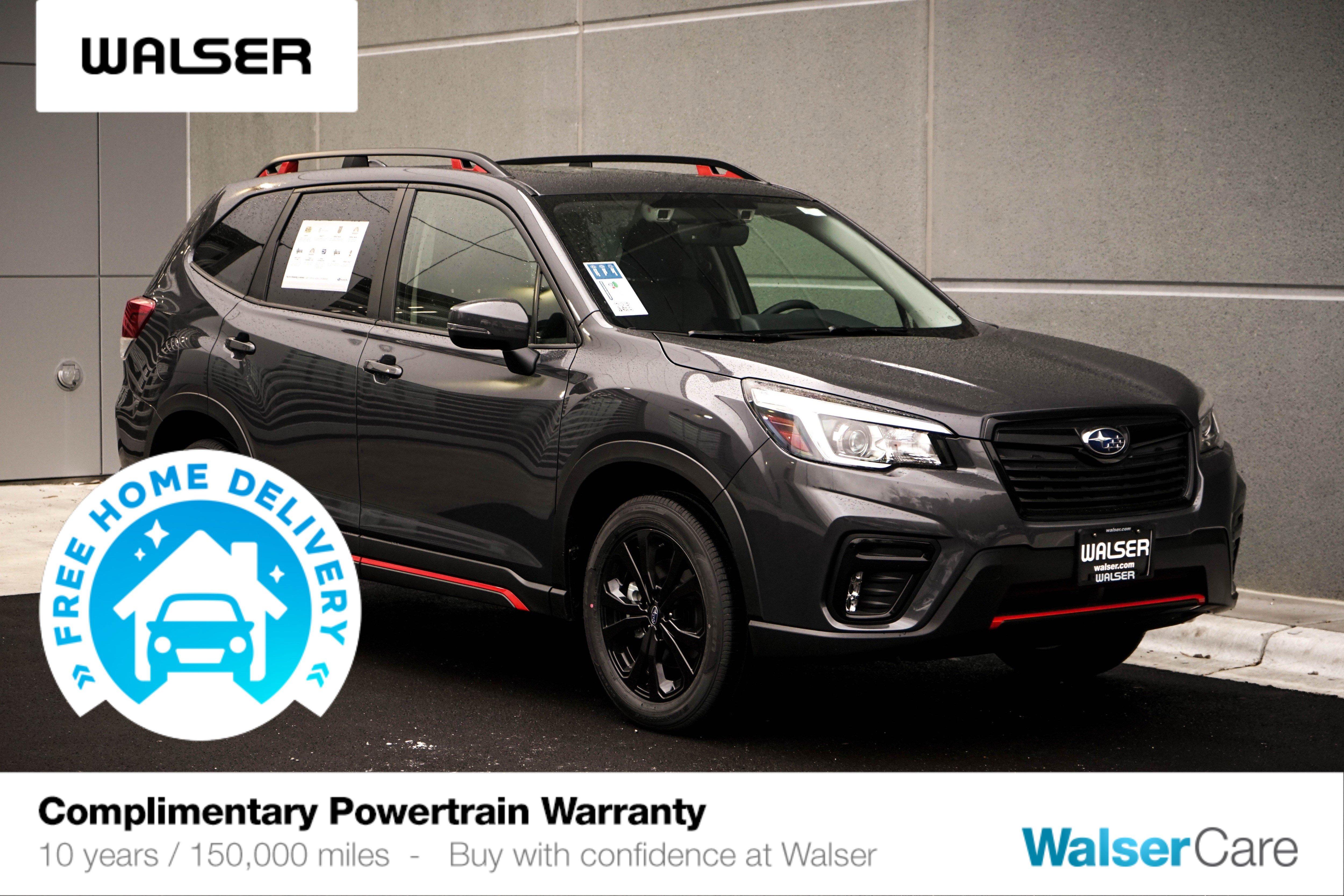 New 2020 Subaru Forester Sport Opt 21