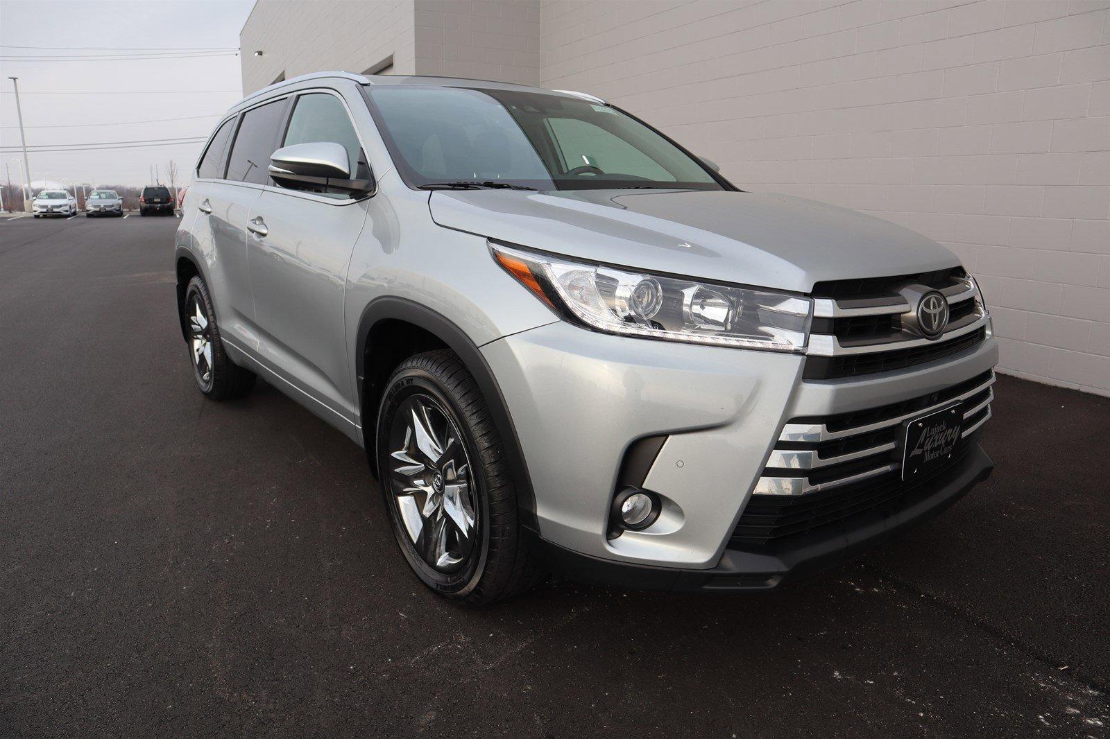 Pre-Owned 2018 Toyota Highlander Limited Platinum