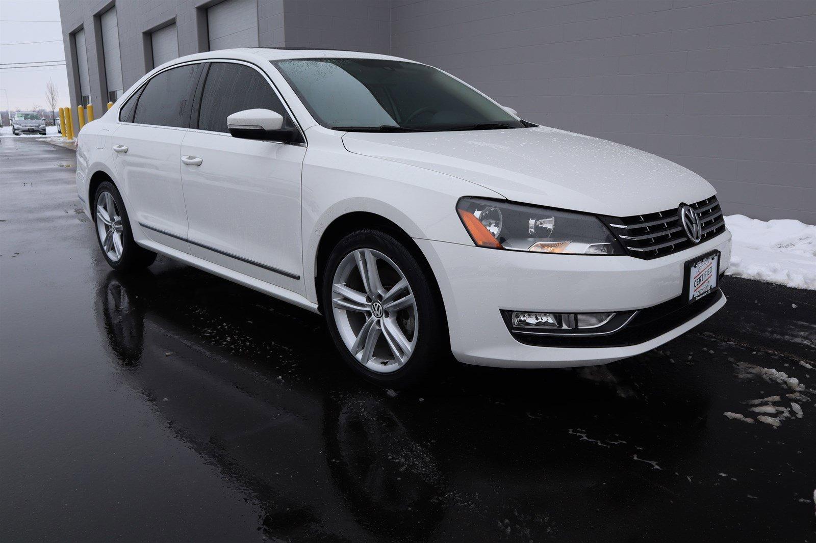 Certified Pre-Owned 2014 Volkswagen Passat TDI SE