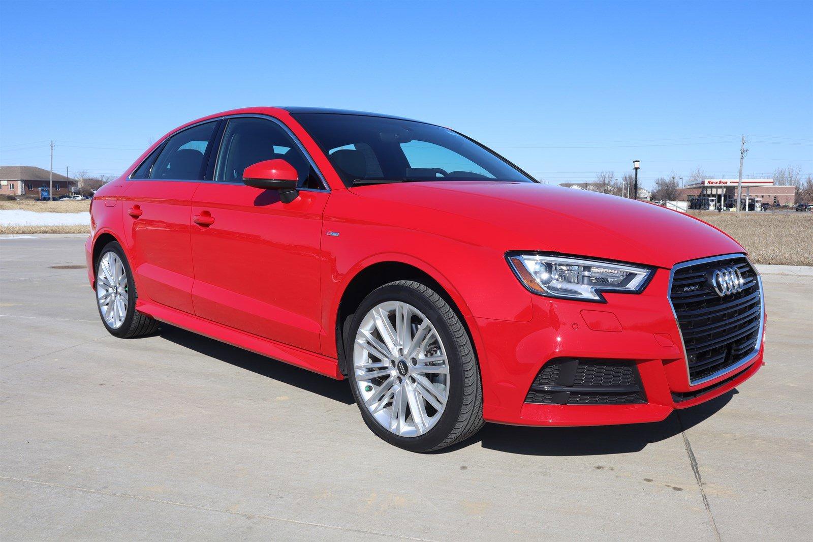 Pre-Owned 2017 Audi A3 Sedan Premium Plus