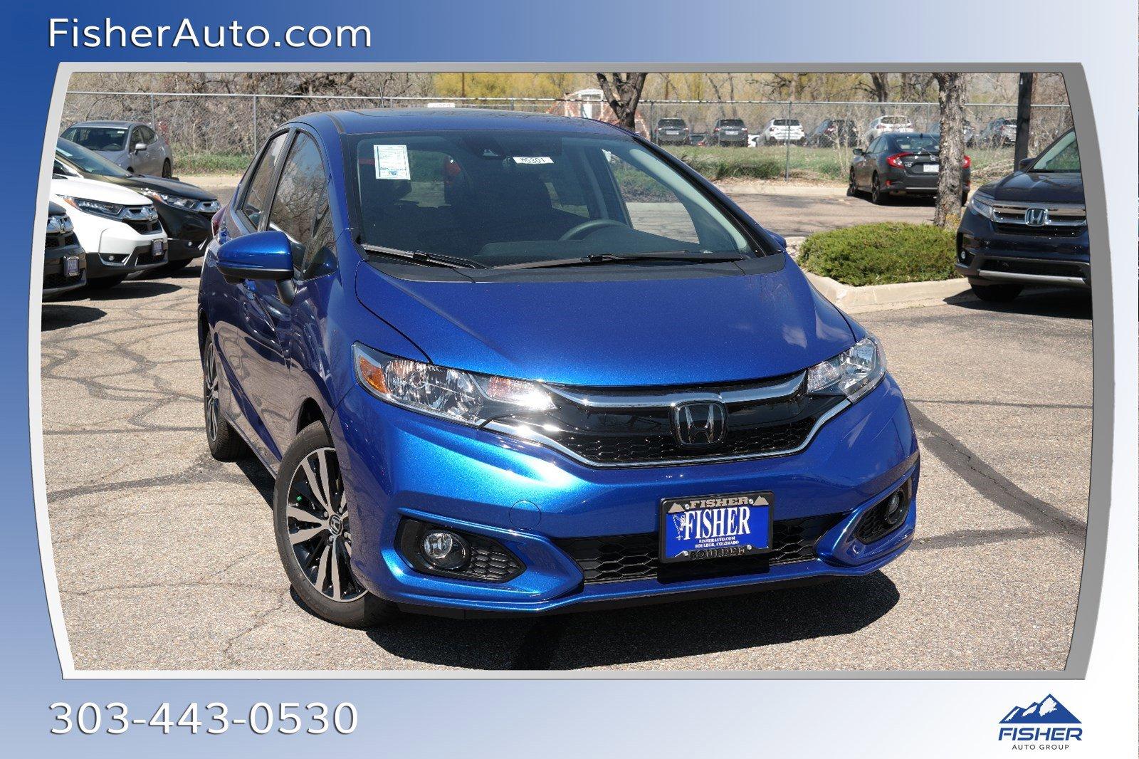 New 2019 Honda Fit EX