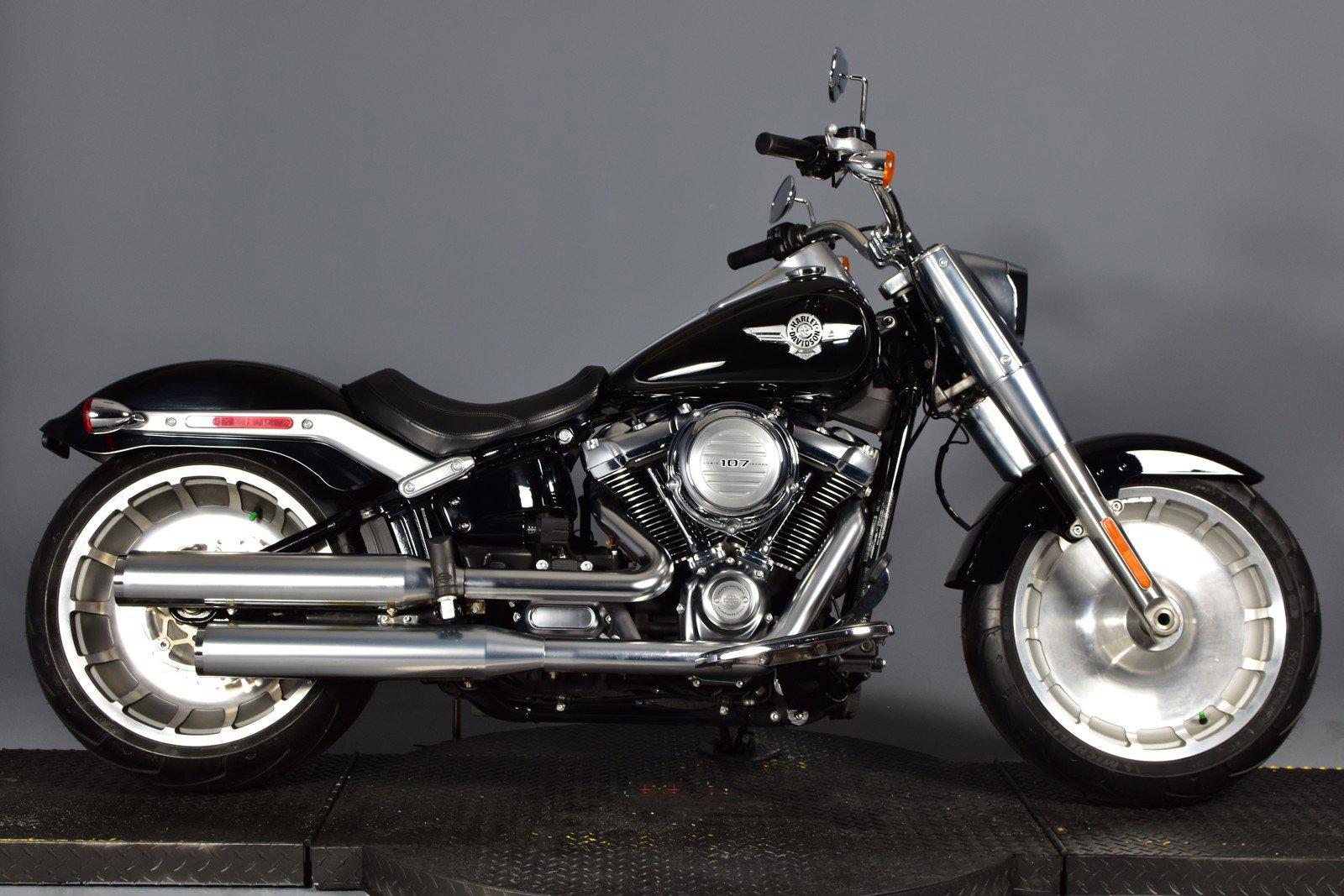 Pre-Owned 2018 Harley-Davidson Softail Fat Boy FLFB