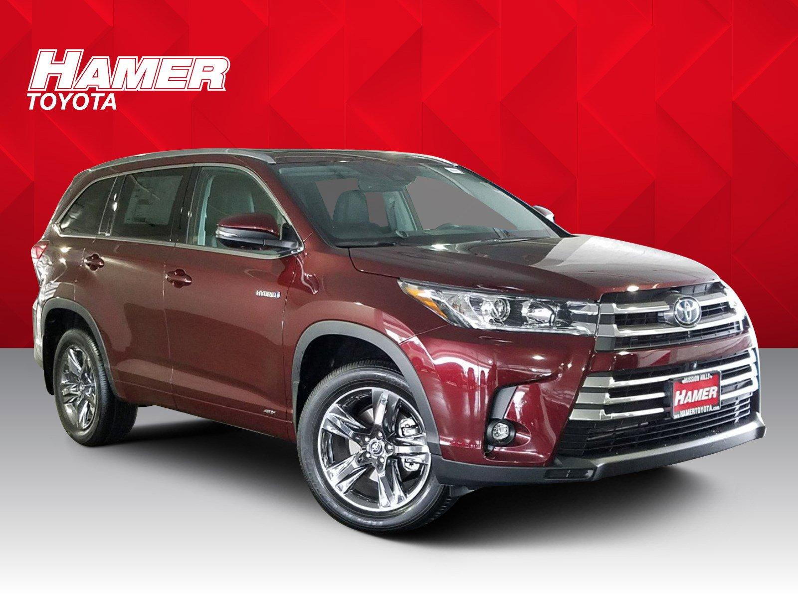 New 2019 Toyota Highlander Hybrid Limited Platinum