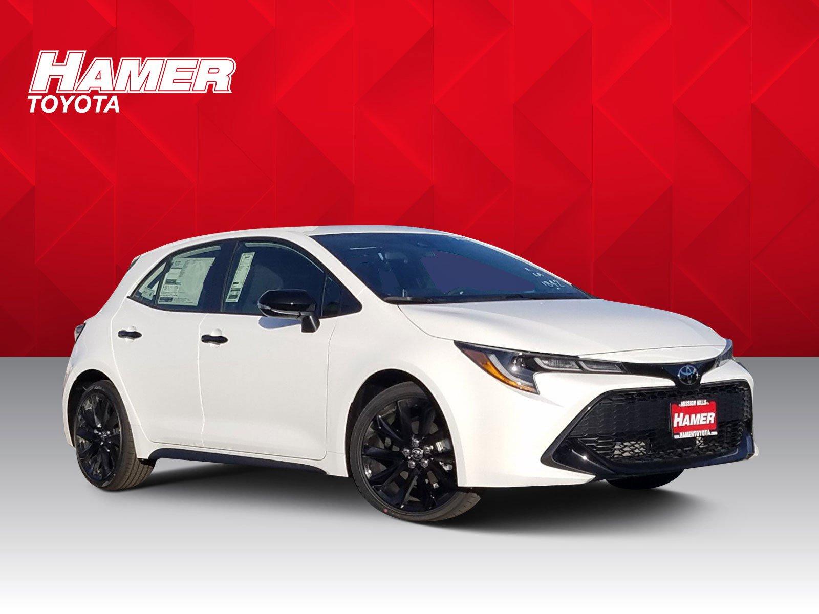 New 2020 Toyota Corolla Hatchback Nightshade