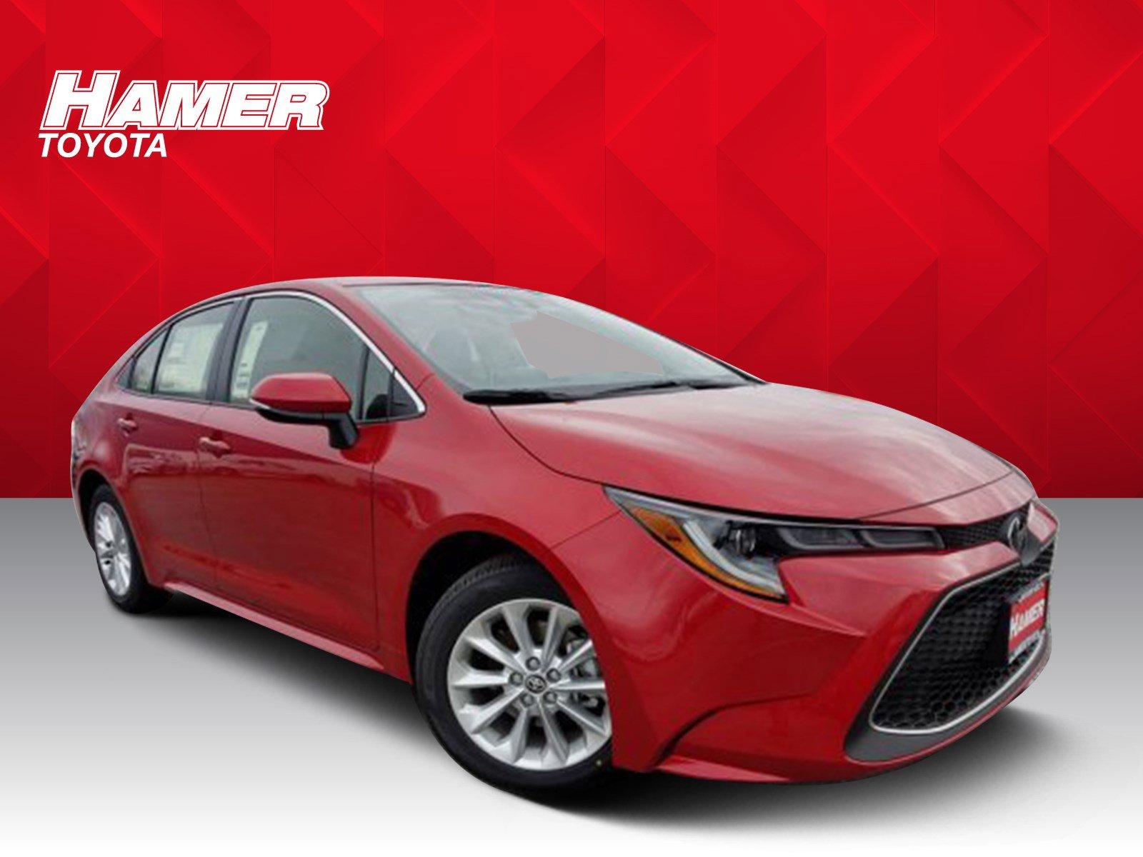 New 2020 Toyota Corolla XLE