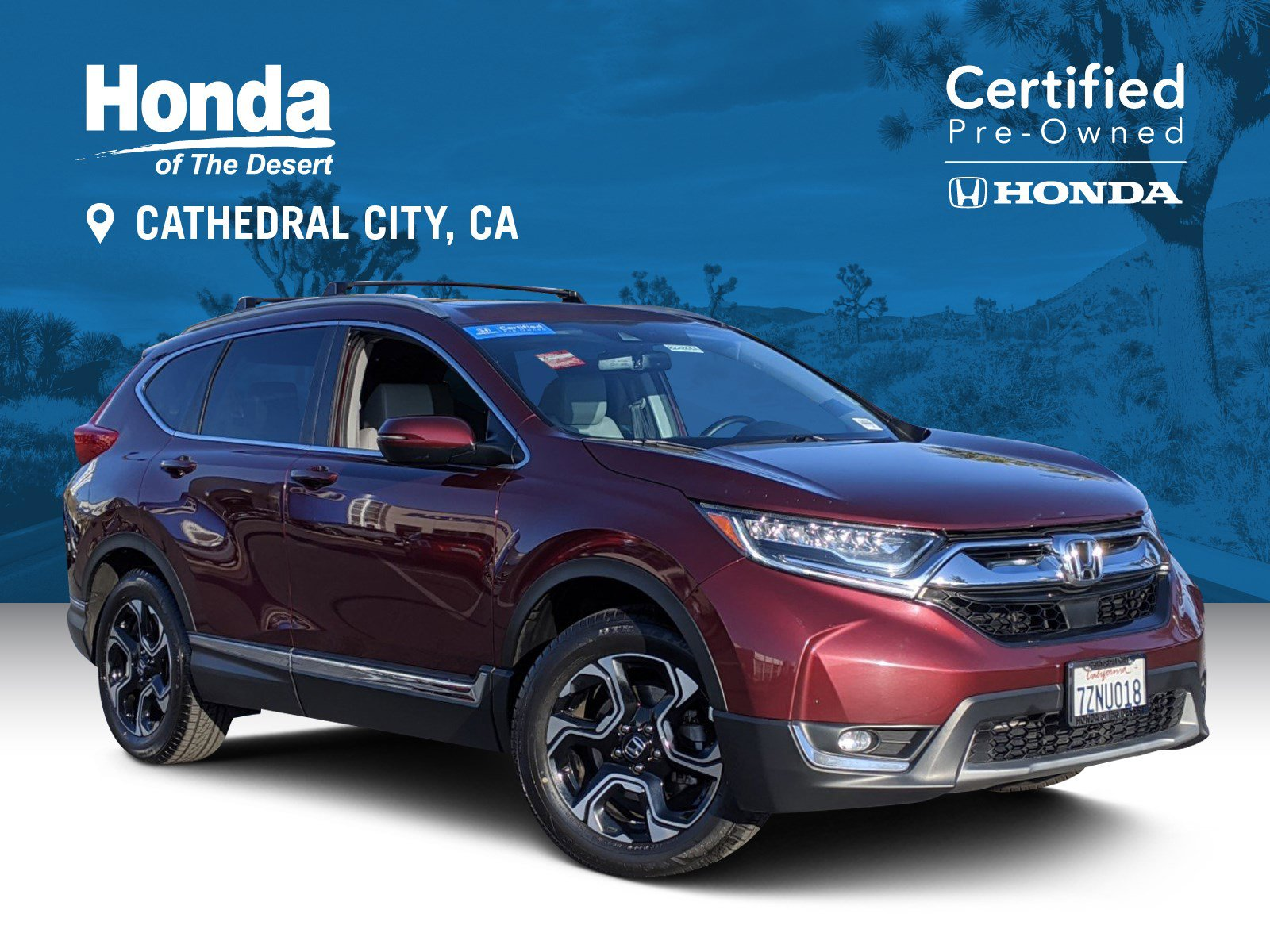 Certified Pre-Owned 2017 Honda CR-V Touring