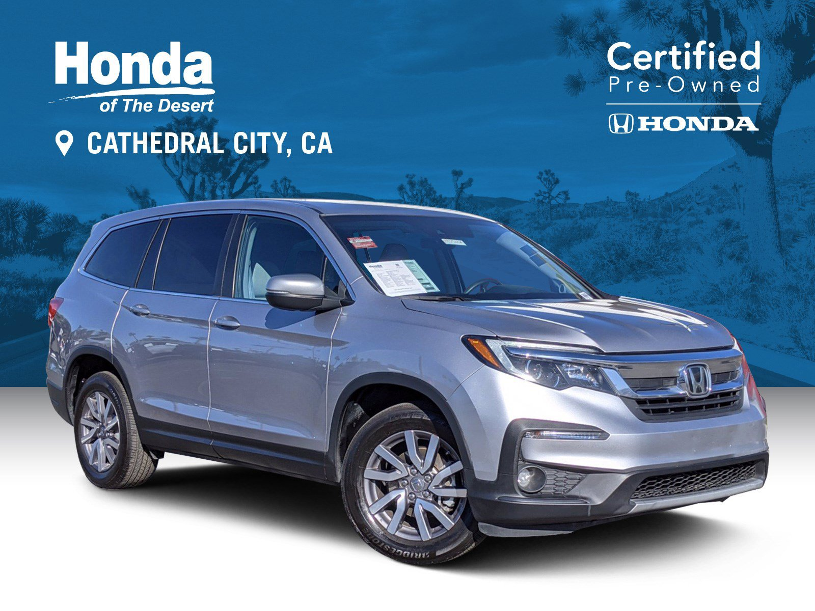 Certified Pre-Owned 2019 Honda Pilot EX