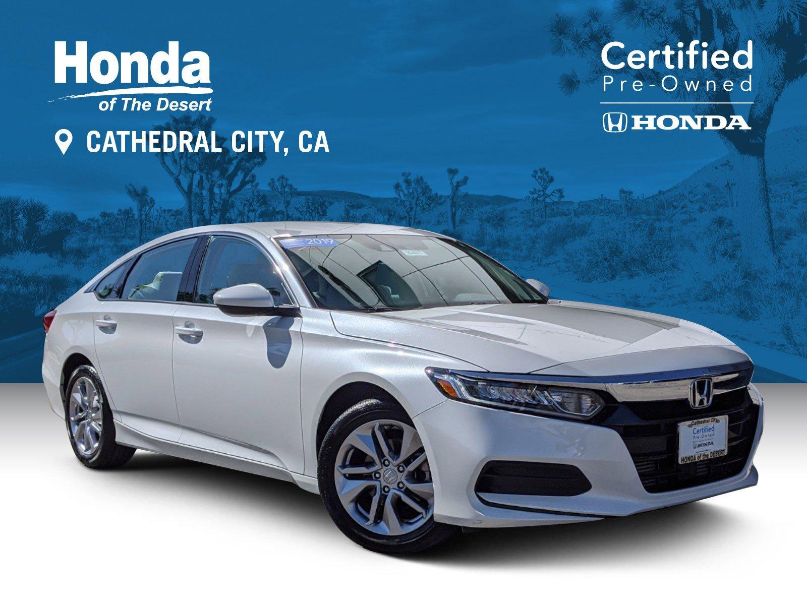 Certified Pre-Owned 2019 Honda Accord Sedan LX 1.5T