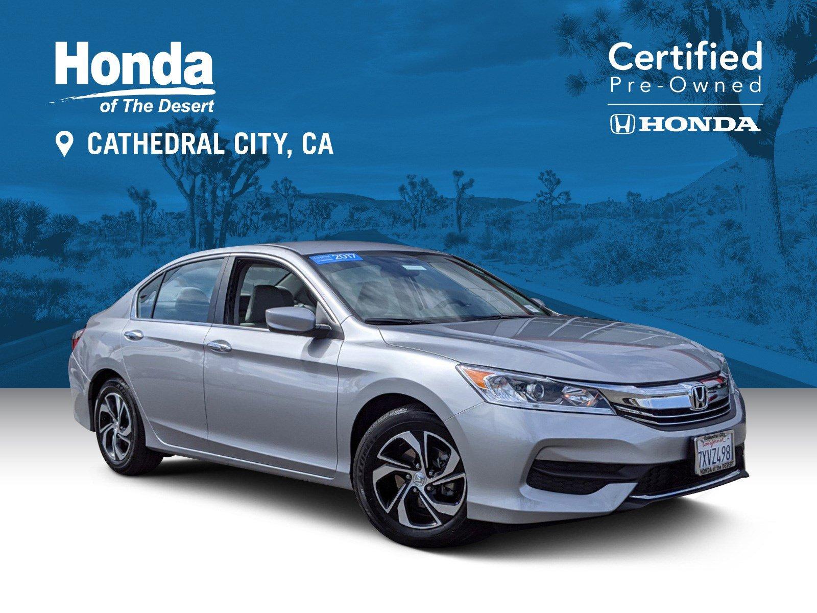 Certified Pre-Owned 2017 Honda Accord Sedan LX