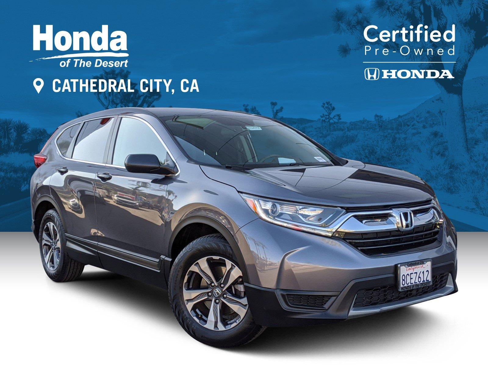 Certified Pre-Owned 2018 Honda CR-V LX