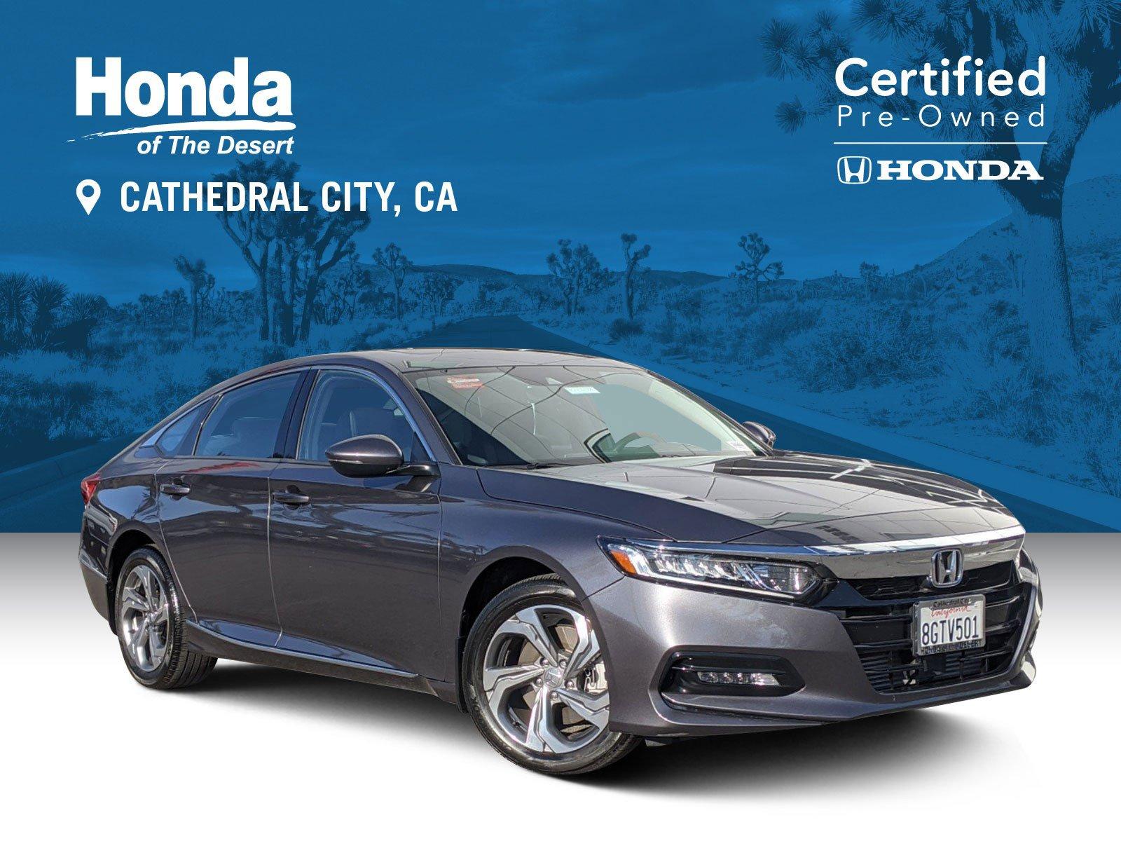 Certified Pre-Owned 2018 Honda Accord Sedan EX-L Navi 2.0T