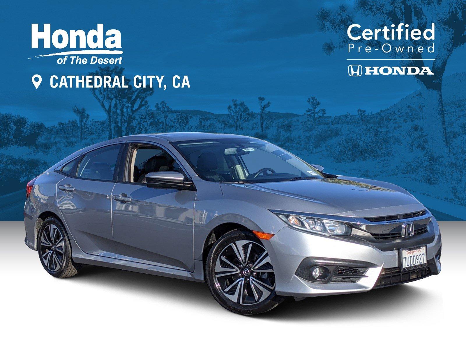 Certified Pre-Owned 2016 Honda Civic Sedan EX-L