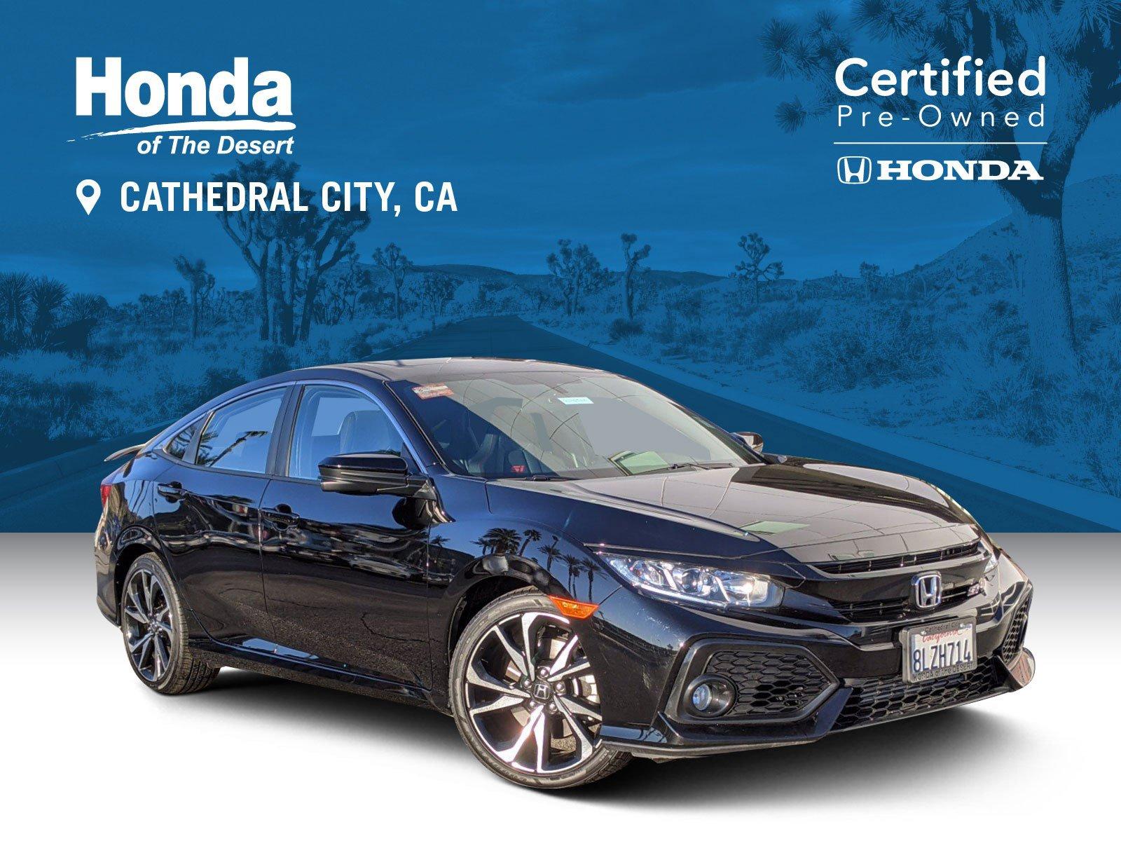Certified Pre-Owned 2019 Honda Civic Si Sedan Si