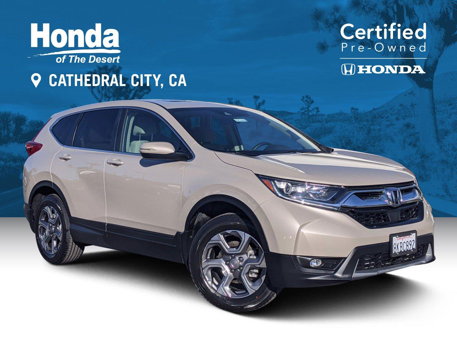 Certified Pre-Owned 2019 Honda CR-V EX