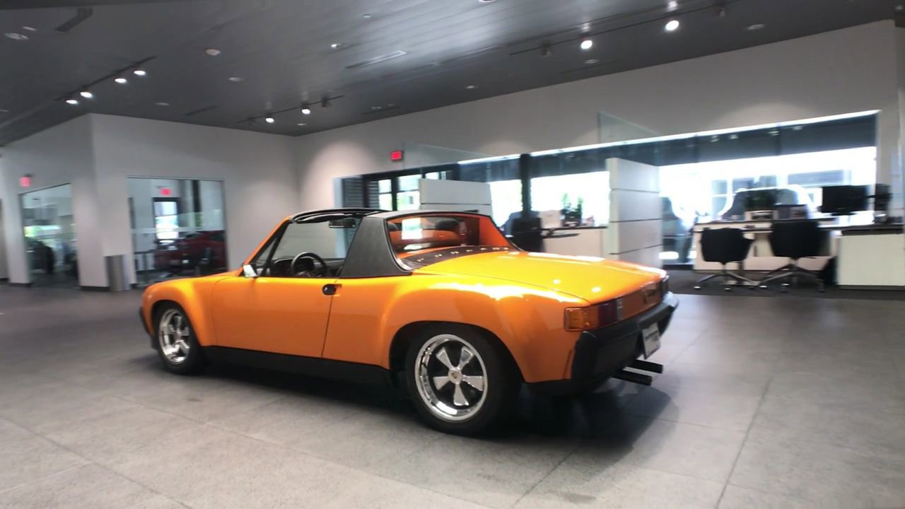 Pre-Owned 1970 Porsche 914-6