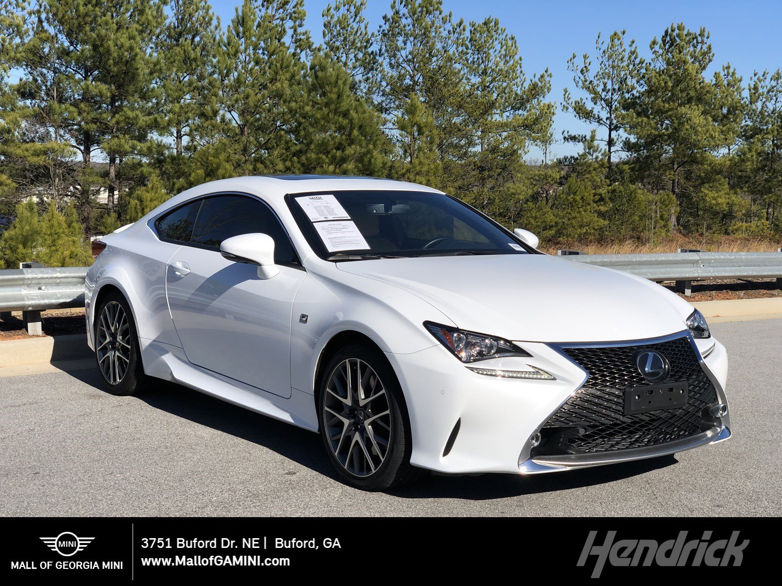 Pre-Owned 2017 Lexus RC RC 350 F Sport