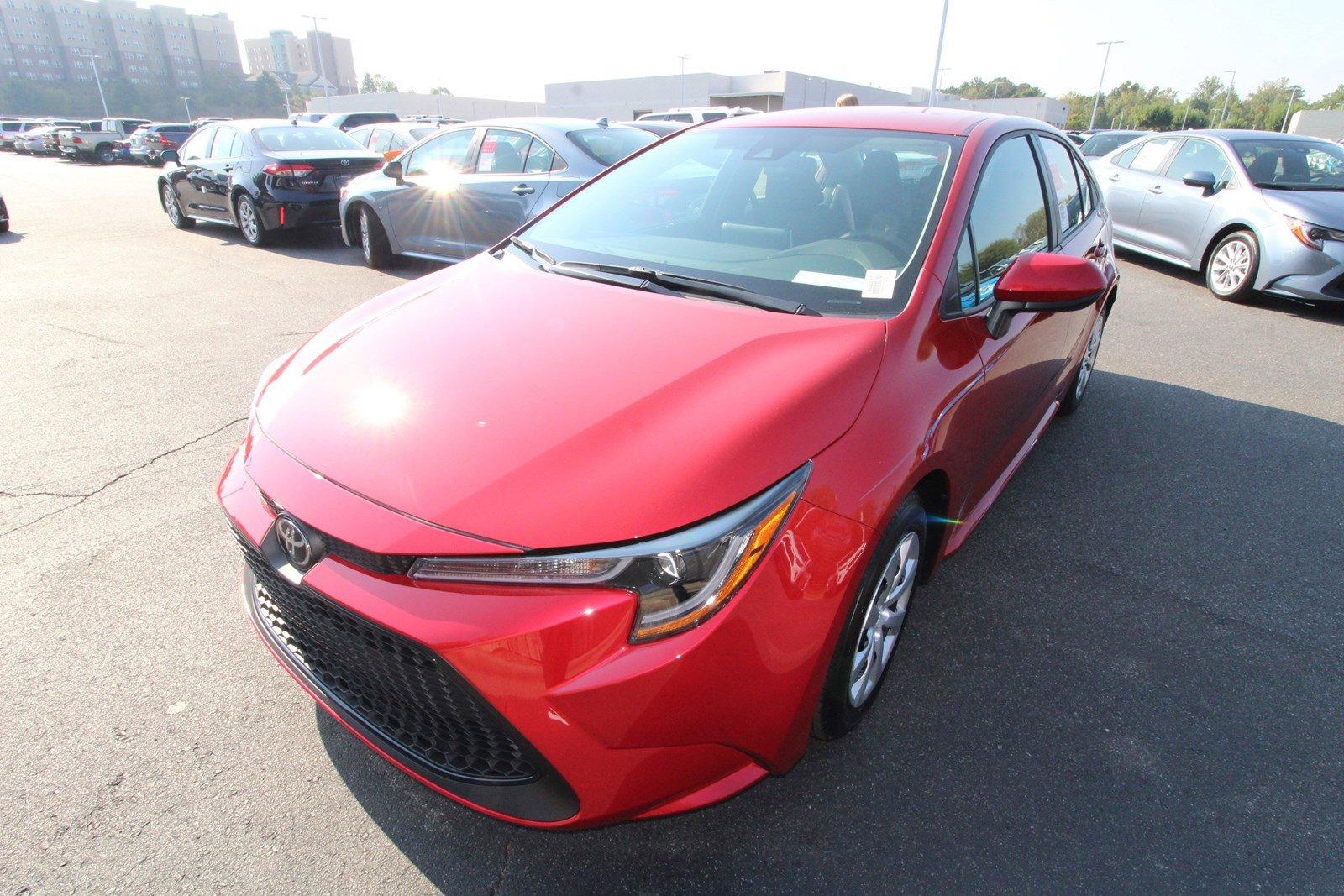 New 2020 Toyota Corolla LE