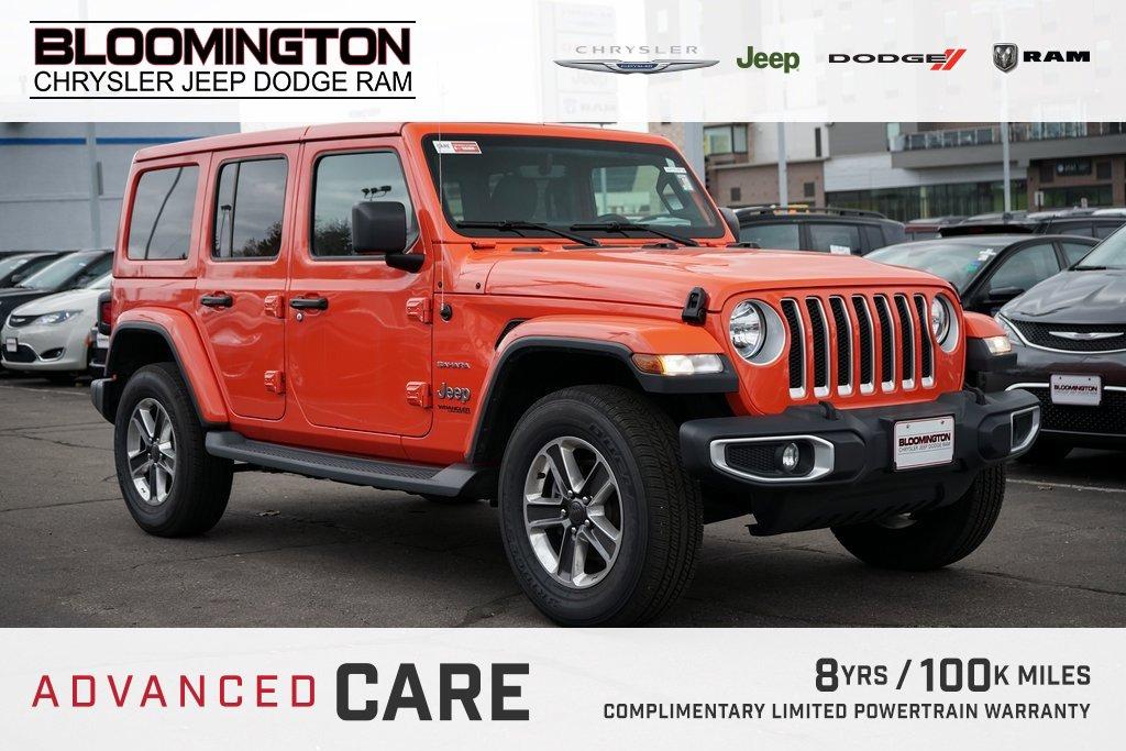 Pre-Owned 2019 Jeep Wrangler Unlimited SAHARA 4D NAV AUTO