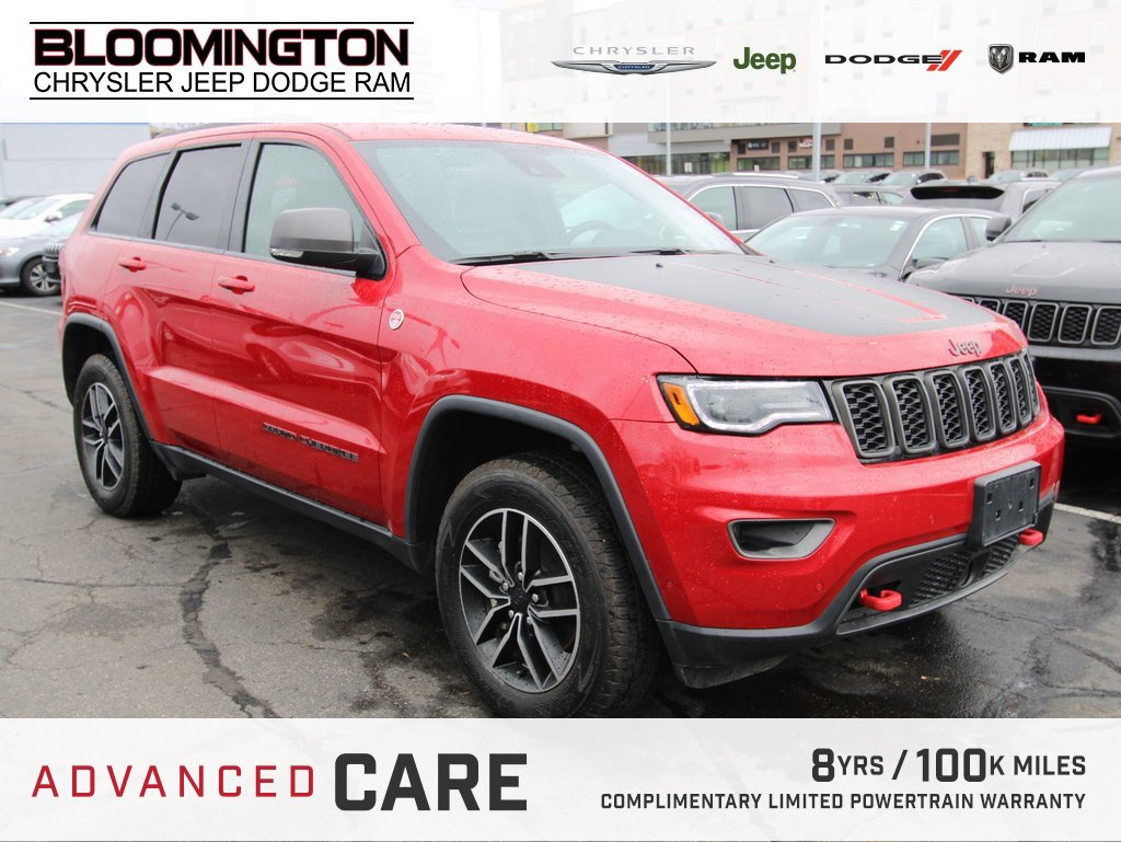 Pre-Owned 2019 Jeep Grand Cherokee TRAILHAWK LUX GRP