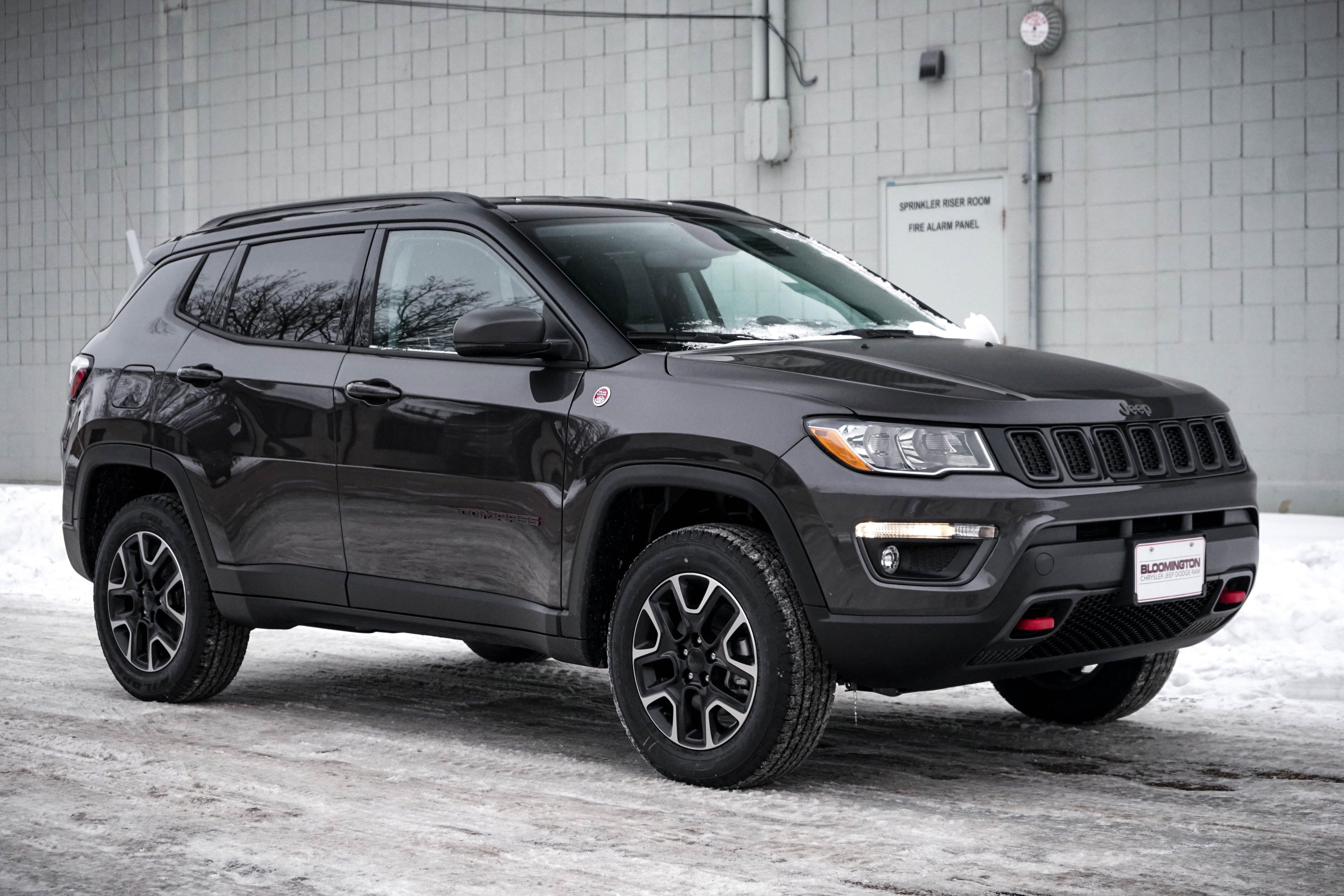 New 2020 Jeep Compass Trailhawk