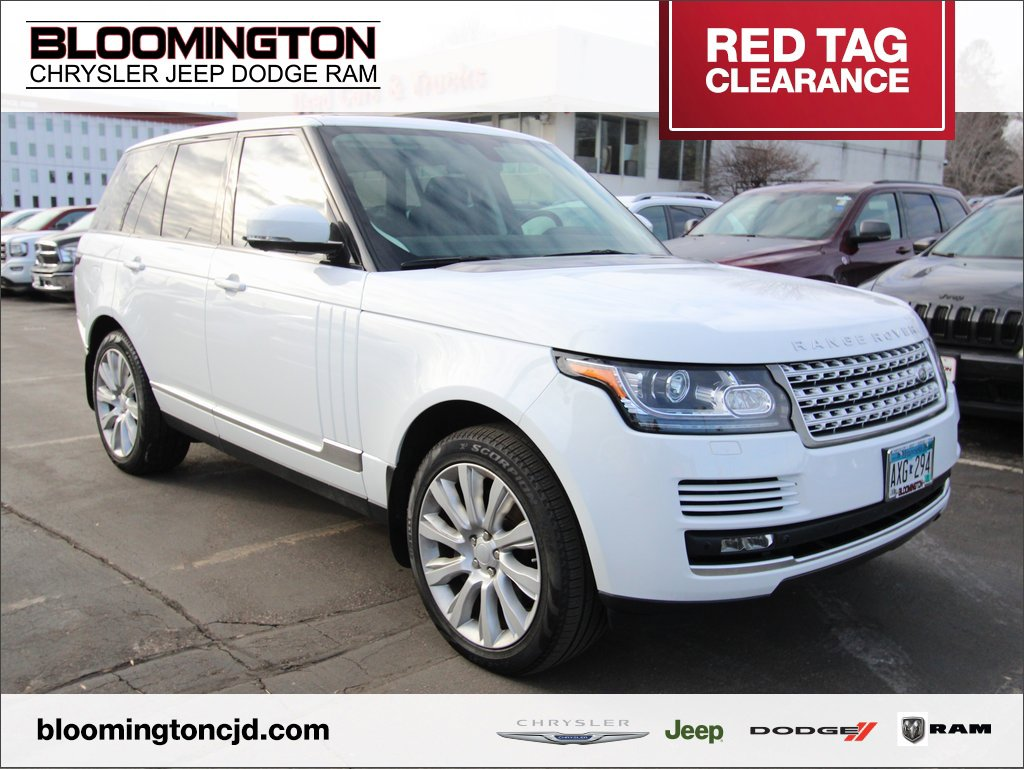Pre-Owned 2015 Land Rover Range Rover
