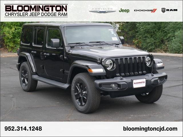 Black Jeep Wrangler Unlimited >> New 2020 Jeep Wrangler Unlimited Sahara Altitude With Navigation 4wd