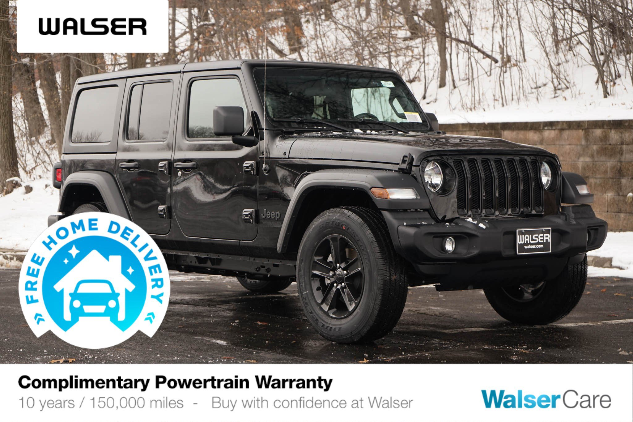 New 2020 Jeep Wrangler Unlimited JEEP WRANGLER UNLIMITED SPORT 4WD