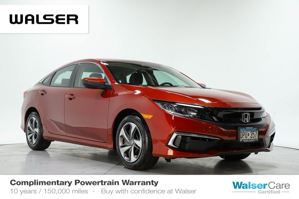 Honda Civic Certified Pre Owned >> Certified Pre Owned 2019 Honda Civic Lx