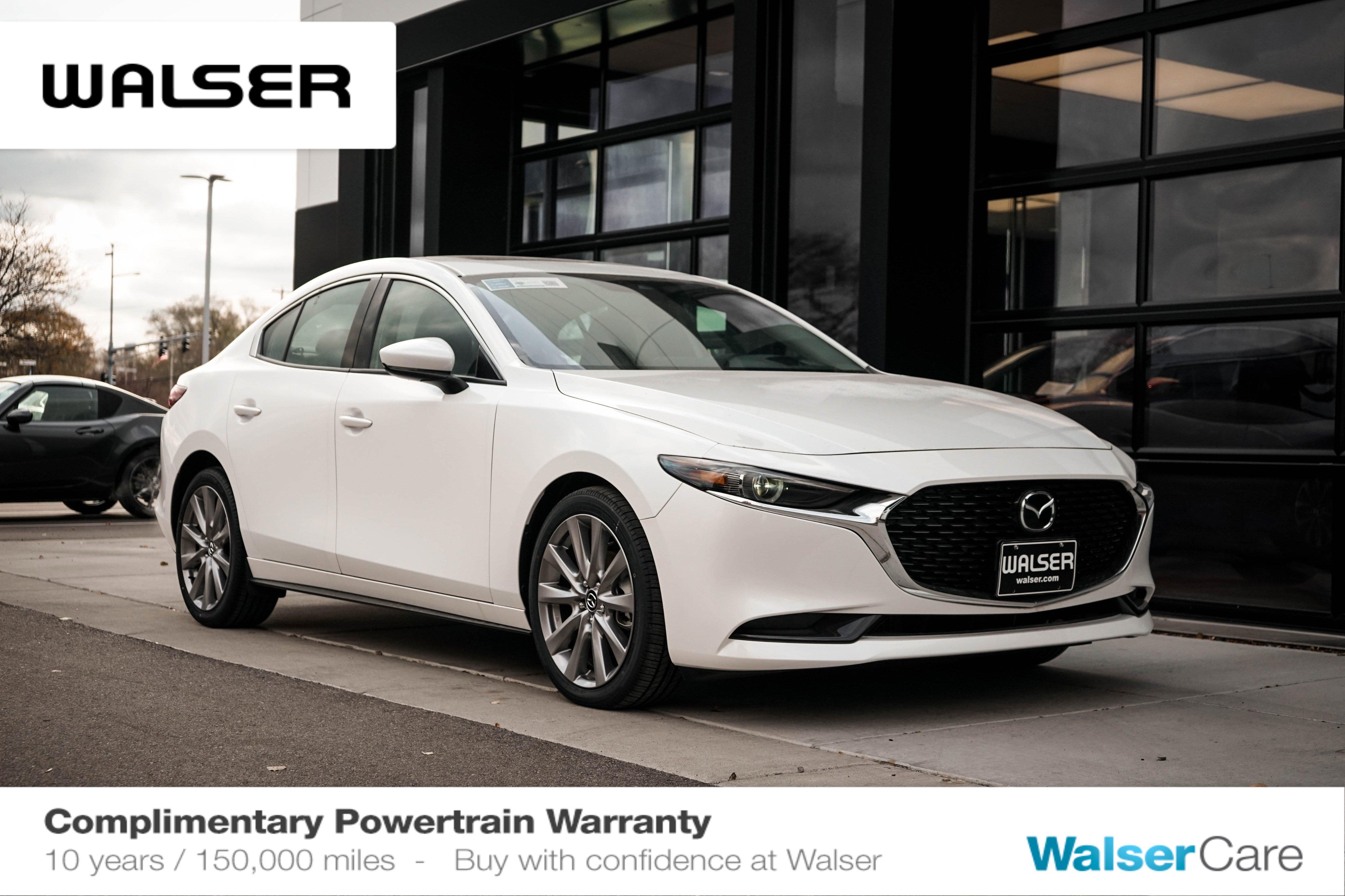 New 2019 Mazda3 Sedan w/Premium Pkg