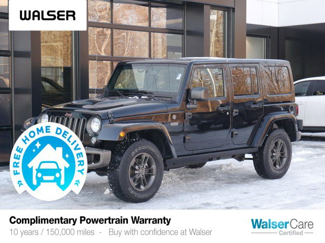 Pre-Owned 2016 Jeep Wrangler Unlimited UNL SAHARA 75TH ED