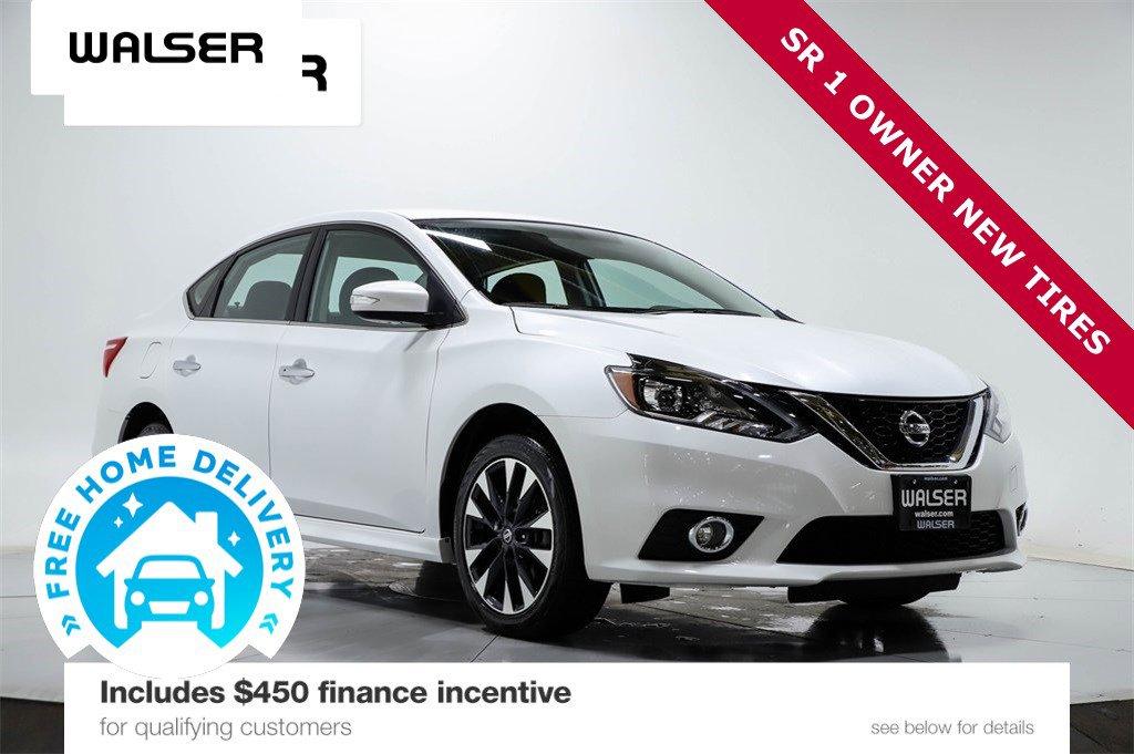 Certified Pre-Owned 2017 Nissan Sentra SR