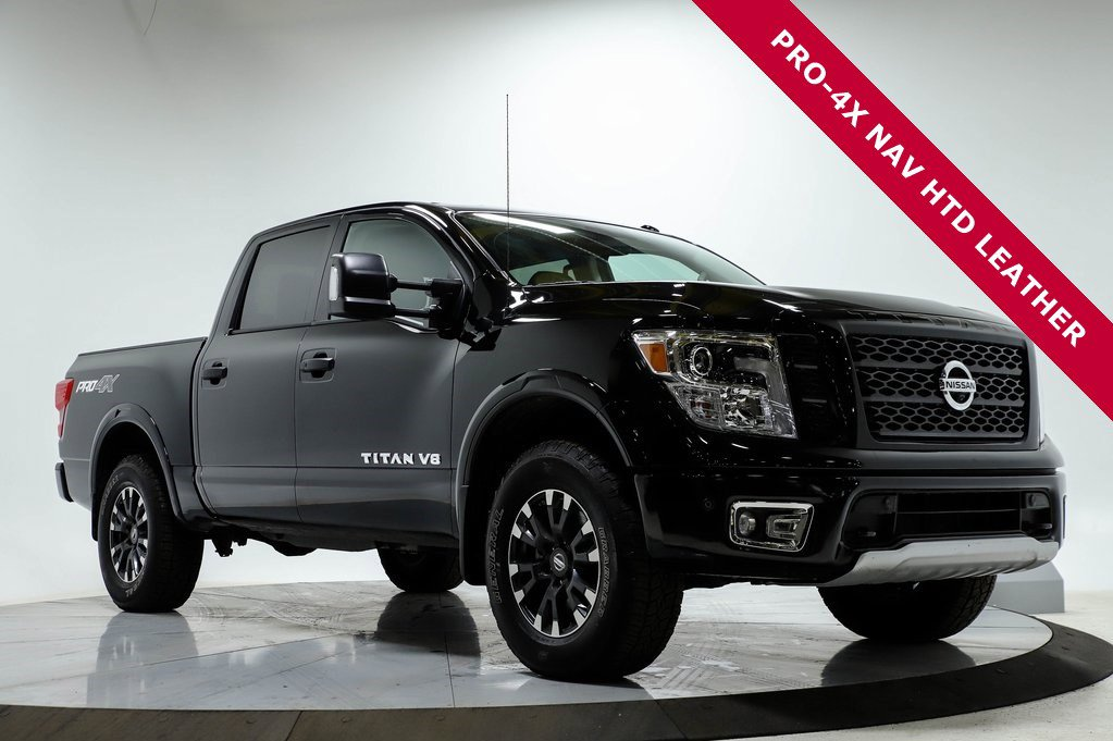 Certified Pre-Owned 2018 Nissan Titan PRO-4X LUXURY