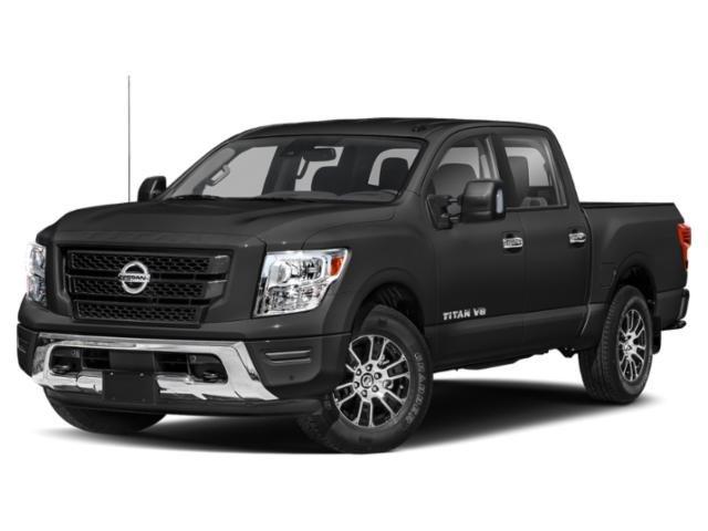 New 2021 Nissan Titan 4x4 Crew Cab SV