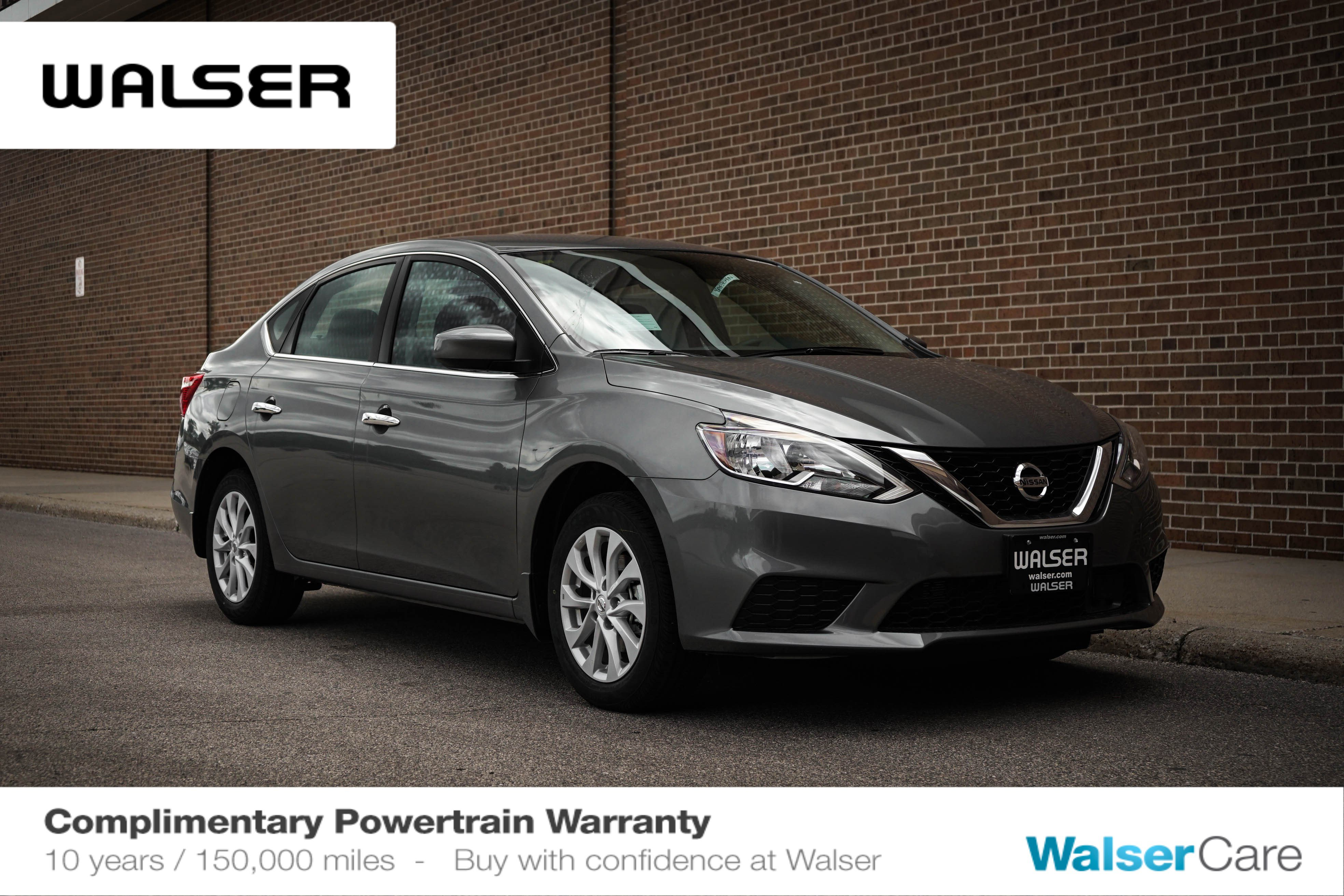 2019 Nissan Sentra SV CVT Lease Deals