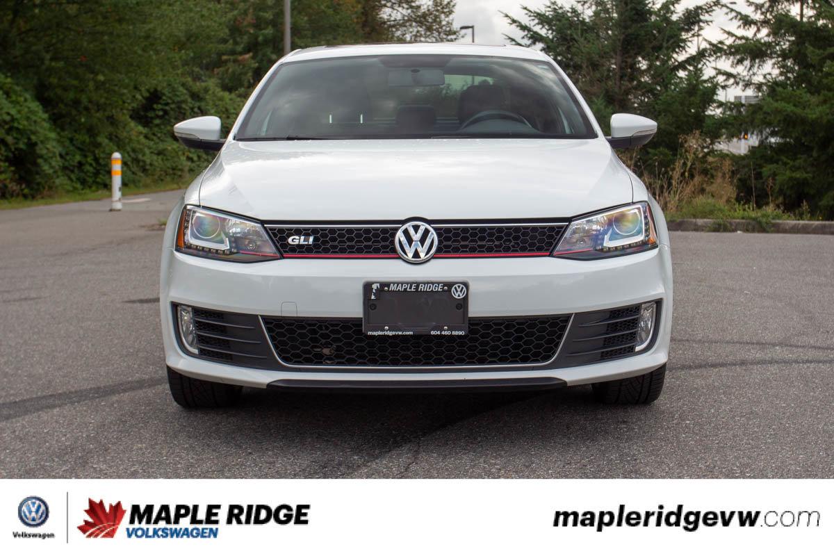 Pre-Owned 2014 Volkswagen Jetta Sedan GLI LOW KM, MANUAL, LEATHER, SUNROOF, LOCAL CAR!