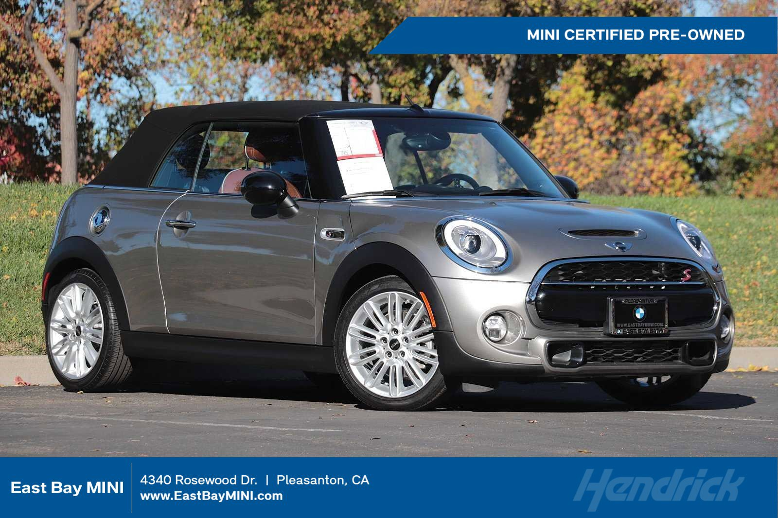Certified Pre-Owned 2018 MINI Convertible Cooper S