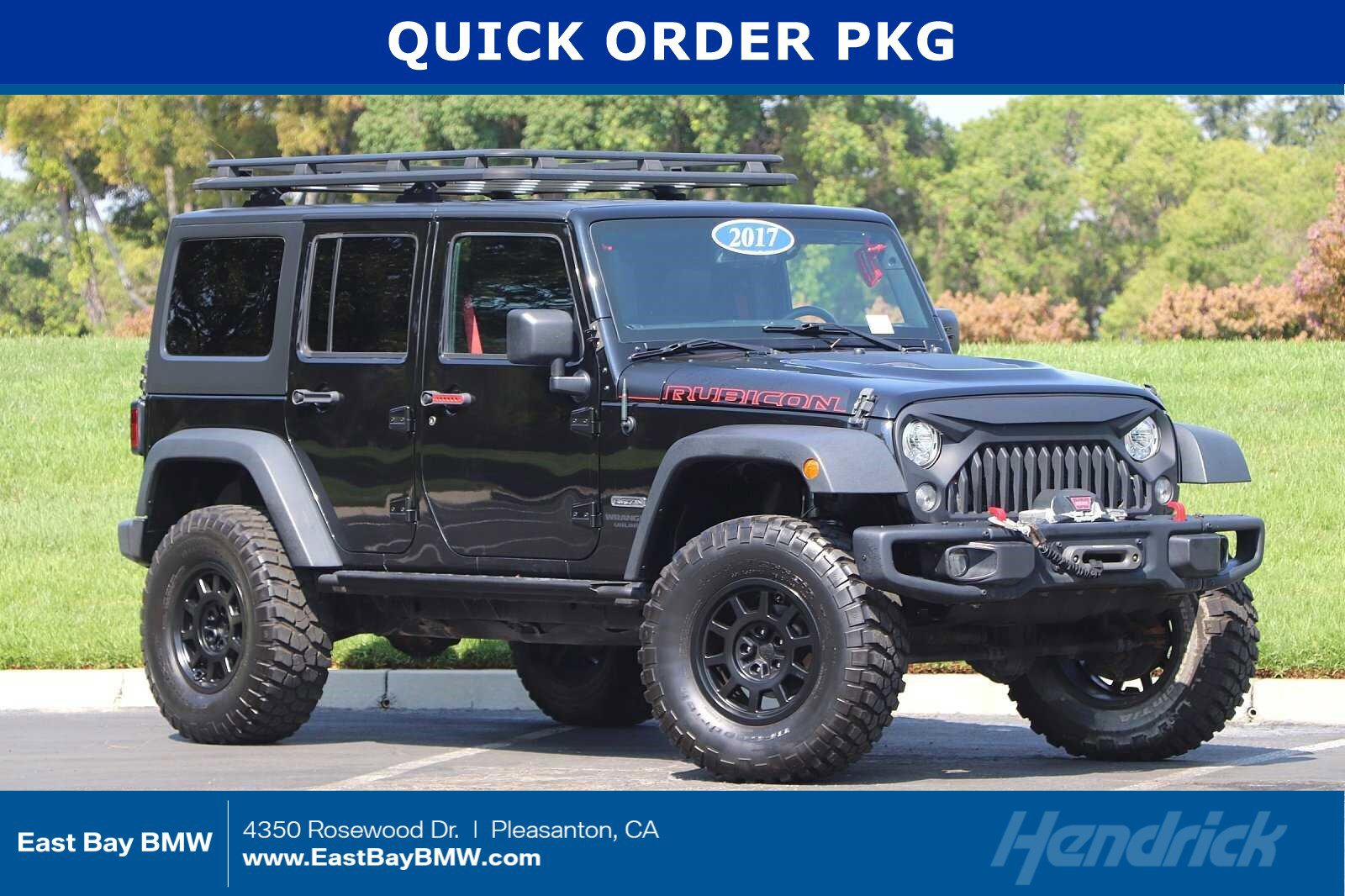 Pre-Owned 2017 Jeep Wrangler Unlimited Rubicon Recon