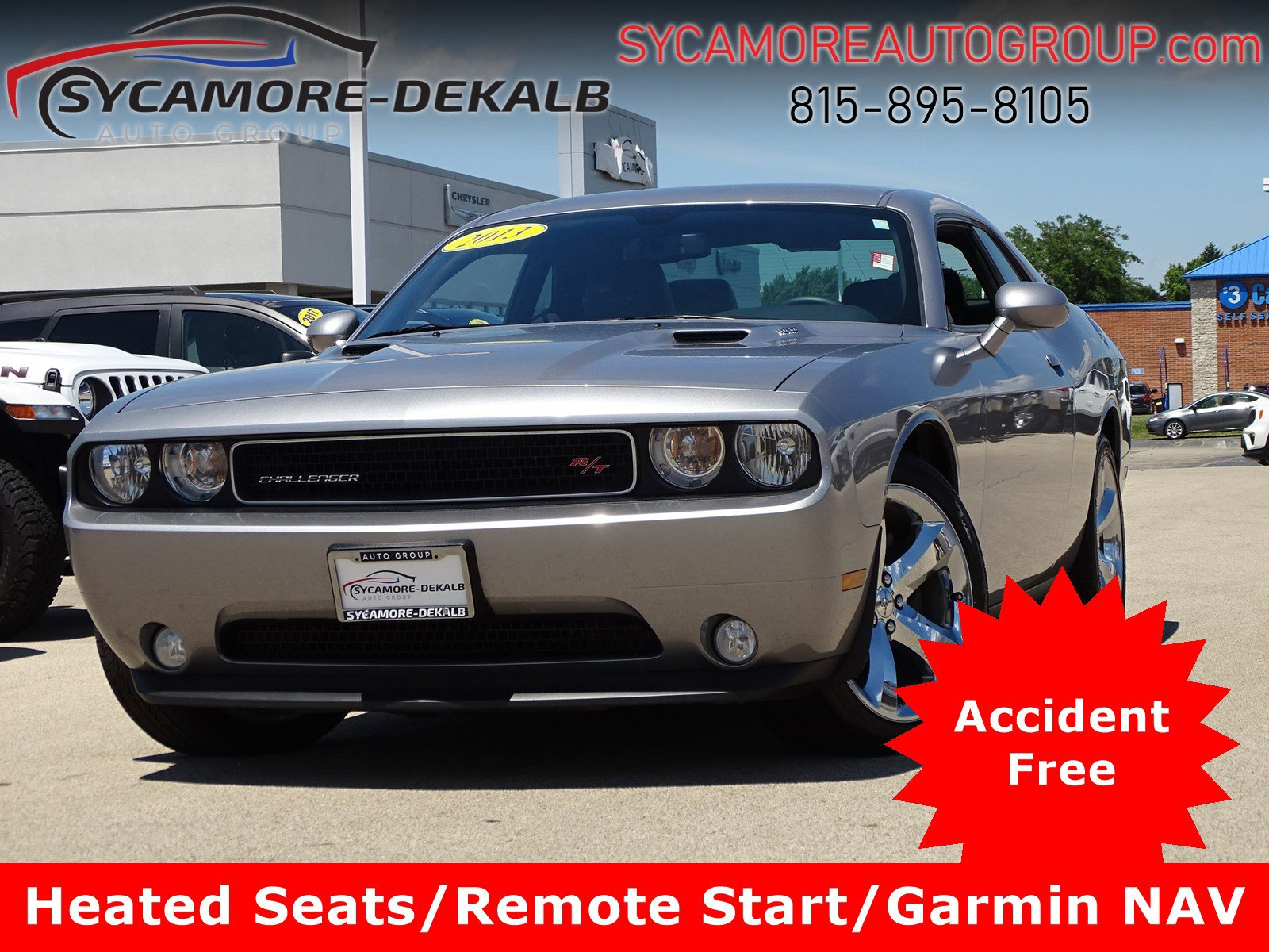 Pre-Owned 2013 Dodge Challenger R/T Plus