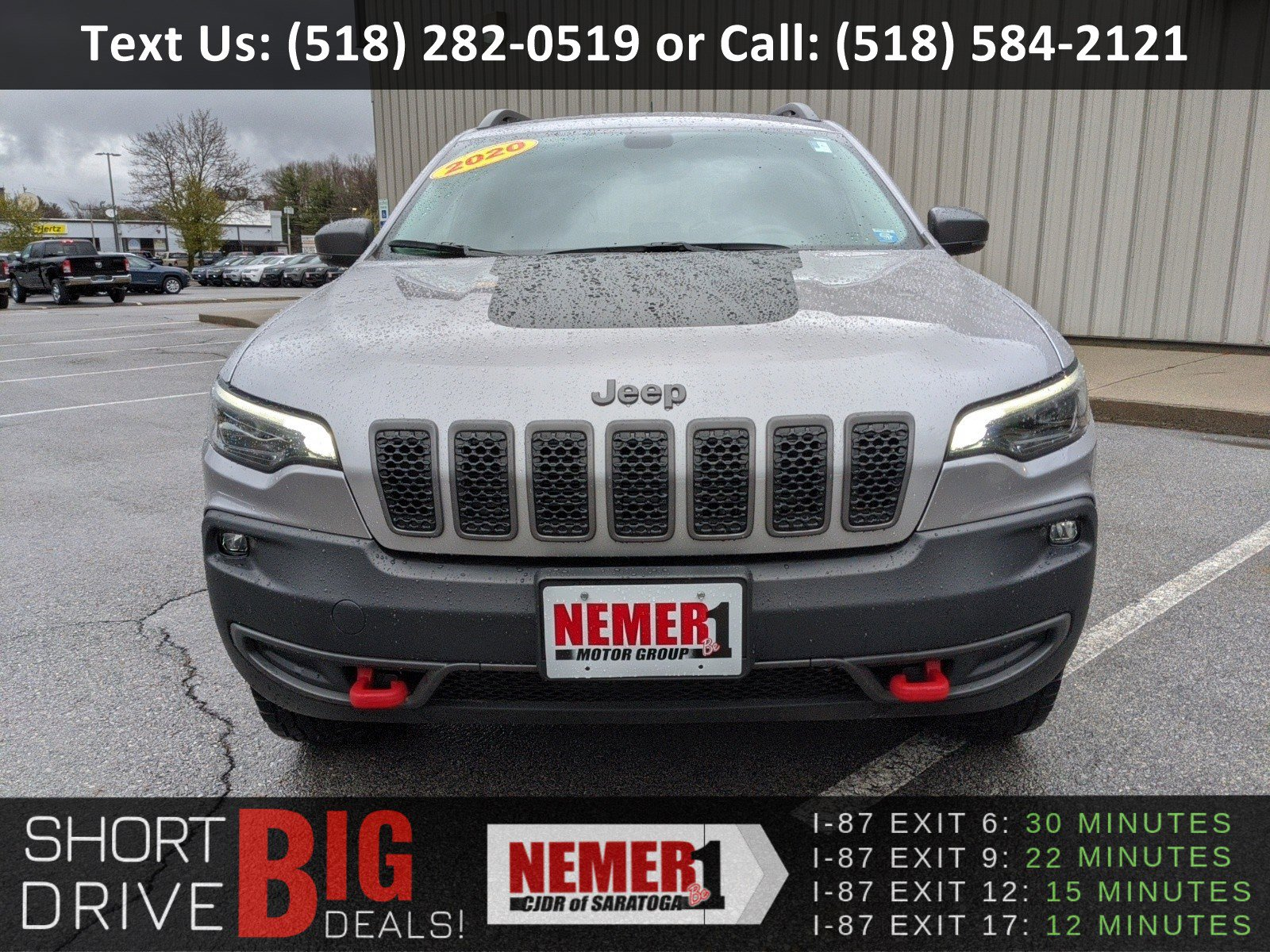 Pre-Owned 2020 Jeep Cherokee Trailhawk