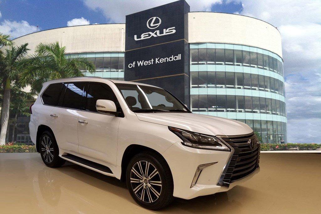 New 2019 Lexus LX