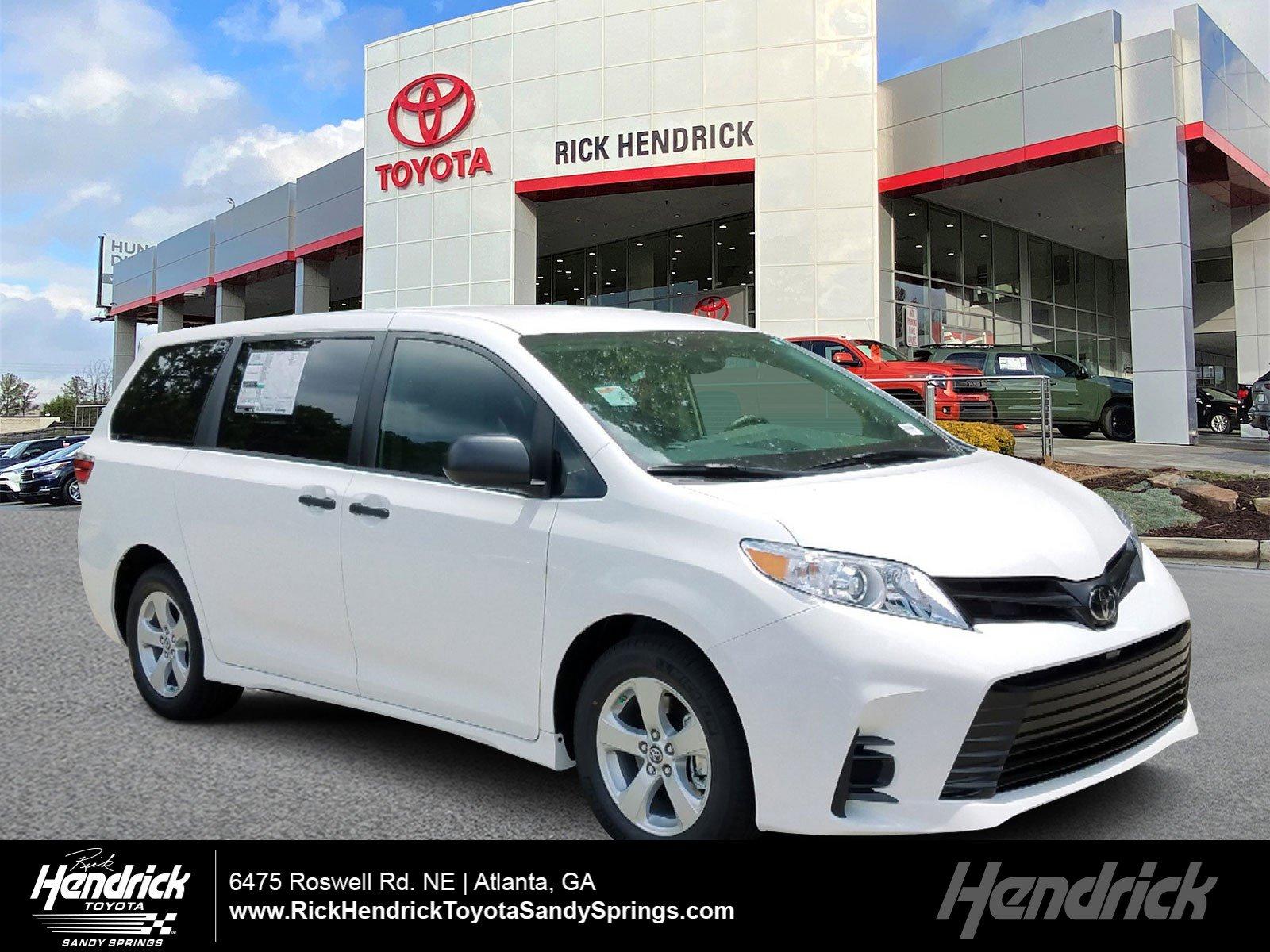 New 2020 Toyota Sienna L