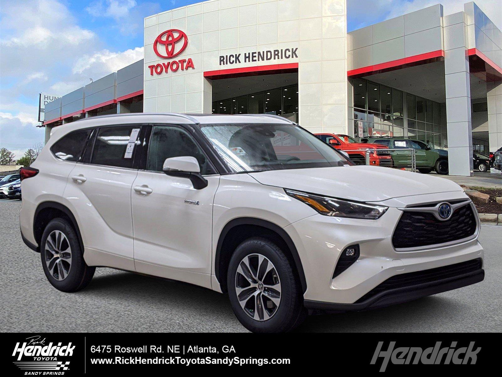 New 2021 Toyota Highlander Hybrid Hybrid XLE
