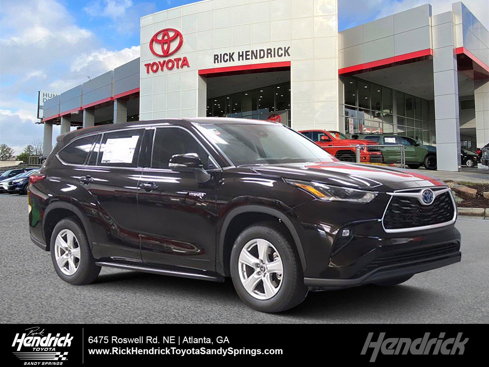 2021 Toyota Highlander Hybrid Hybrid LE