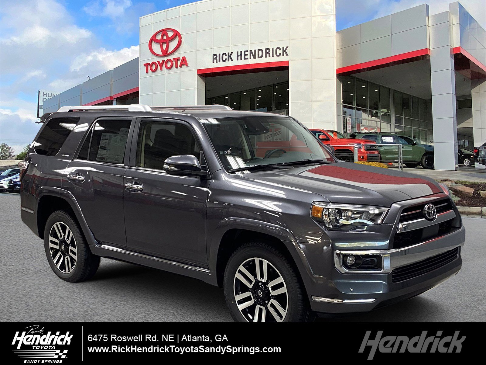 New 2021 Toyota 4runner Limited Suv In Atlanta M32269 Rick Hendrick Toyota Sandy Springs
