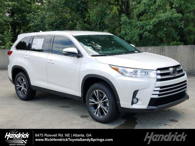 New 2019 Toyota Highlander Le Plus Fwd Suv