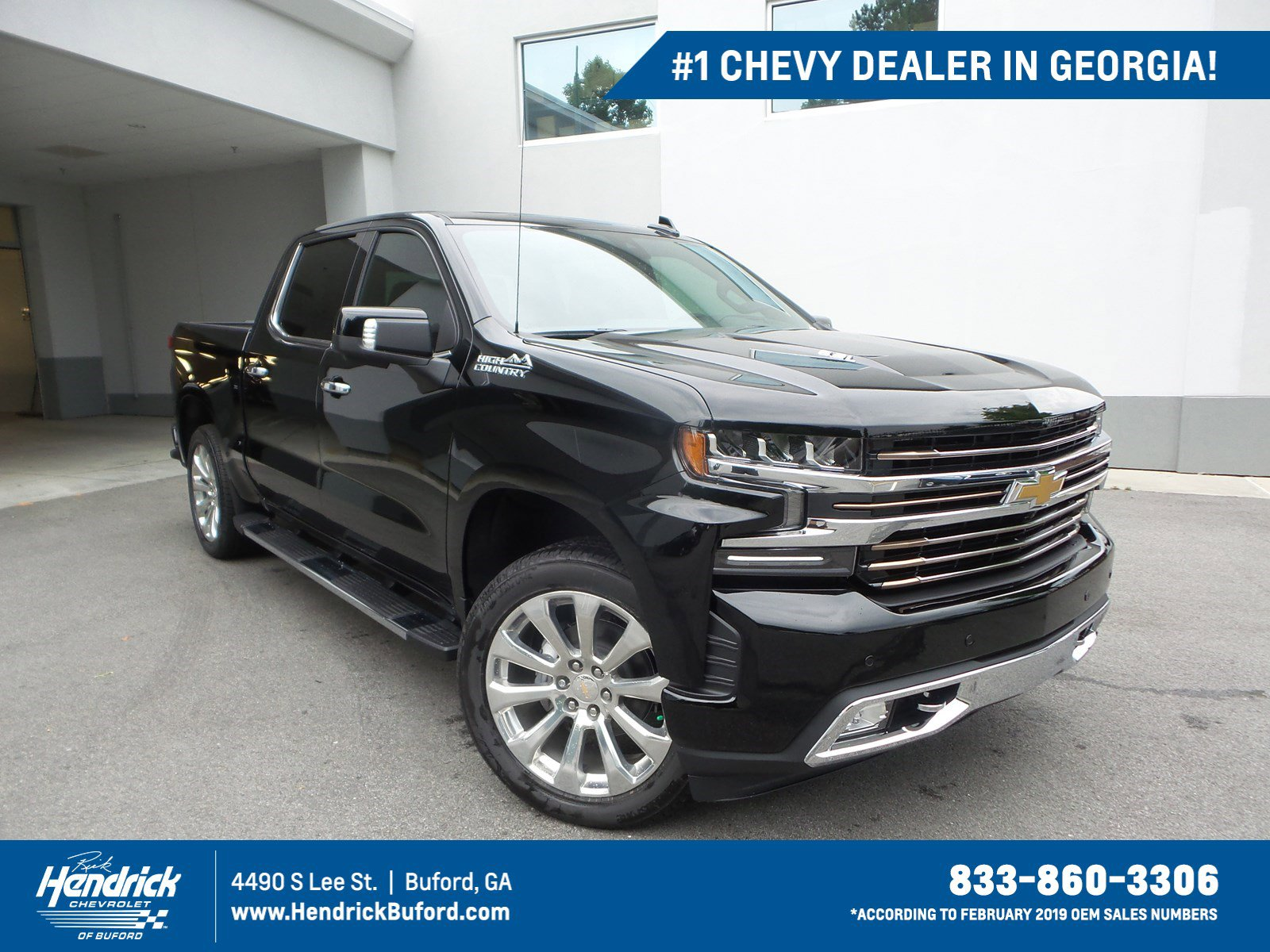 High Country Chevy >> New 2019 Chevrolet Silverado 1500 High Country With Navigation 4wd