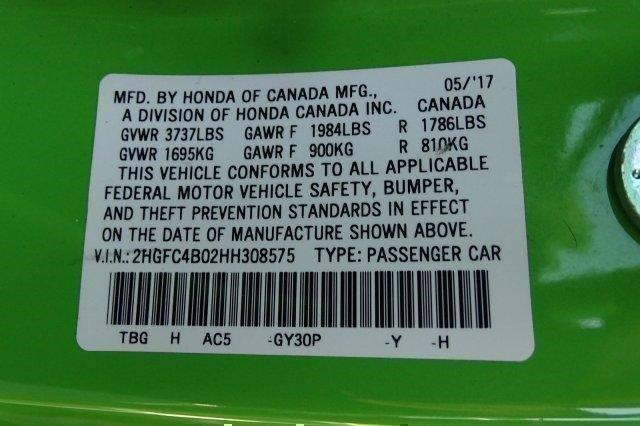 Pre-Owned 2017 Honda Civic LX-P