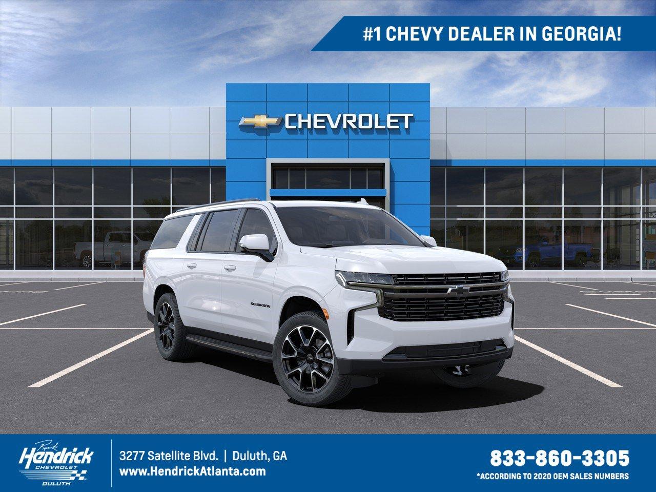 New 2021 Chevrolet Suburban Rst Suv In Duluth M93946 Rick Hendrick Chevrolet Duluth