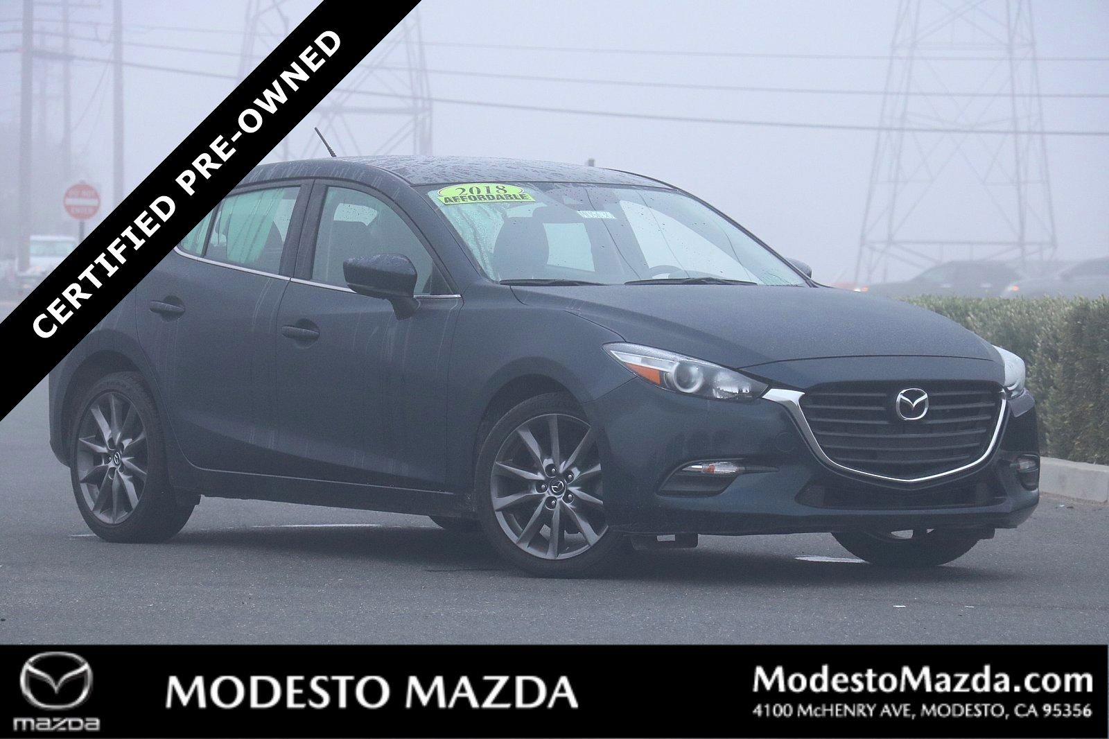 Pre-Owned 2018 Mazda3 5-Door Touring