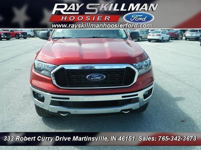 New 2019 Ford Ranger 4DR 4WD SPRCAB 5'BOX